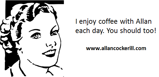 make coffee with Allan part of your routine